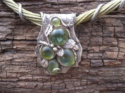 metal clay bead jewelry